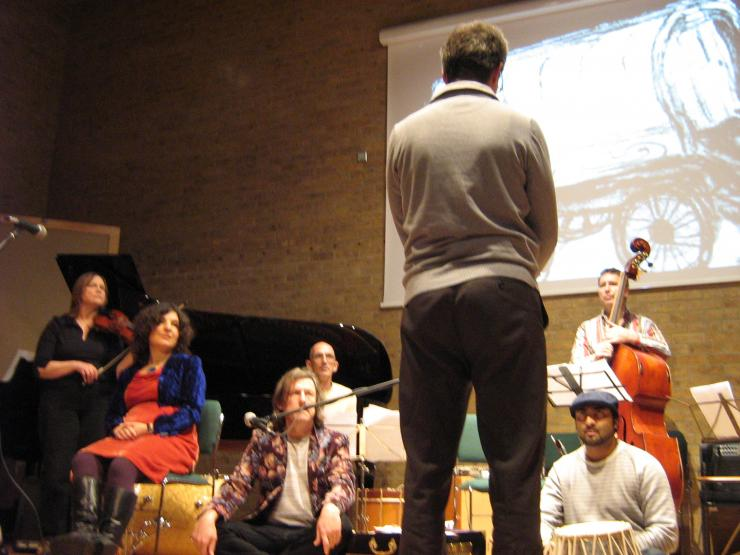 Cohesion Festival  Chris Brown  Conduction of Oxford Improvisers